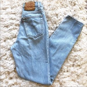 Levi's | Vintage High Waisted Tapered Mom Jeans 7L
